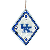 Kentucky Wildcats Art Glass Ornament