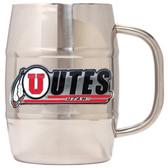 Utah Utes Macho Barrel Mug - 32 oz. - Utah Utes