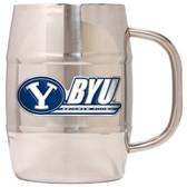 Brigham Young Cougars Macho Barrel Mug - 32 oz. - Brigham Young Cougars
