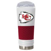 Kansas City Chiefs The 24oz Powder Coated DRAFT - Vacuum Insulated Tumbler - Kansas City Chiefs