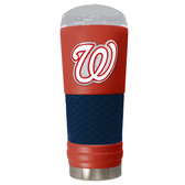 Washington Nationals The 24oz Powder Coated DRAFT - Vacuum Insulated Tumbler - Washington Nationals