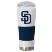 San Diego Padres The 24oz Powder Coated DRAFT - Vacuum Insulated Tumbler - San Diego Padres