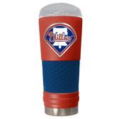 Philadelphia Phillies The 24oz Powder Coated DRAFT - Vacuum Insulated Tumbler - Philadelphia Phillies