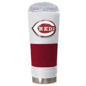 Cincinnati Reds The 24oz Powder Coated DRAFT - Vacuum Insulated Tumbler - Cincinnati Reds