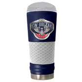 New Orleans Pelicans The 24oz Powder Coated DRAFT - Vacuum Insulated Tumbler - New Orleans Pelicans