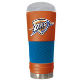 Oklahoma City Thunder The 24oz Powder Coated DRAFT - Vacuum Insulated Tumbler - Oklahoma City Thunder