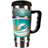 Miami Dolphins 20oz Travel Mug
