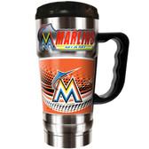 Miami Marlins  20oz Travel Mug