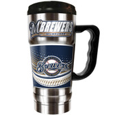 Milwaukee Brewers  20oz Travel Mug