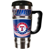 Texas Rangers  20oz Travel Mug
