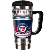 Washington Nationals  20oz Travel Mug