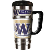 Washington Huskies 20oz Travel Mug