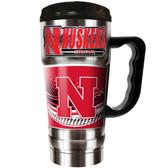 Nebraska Cornhuskers 20oz Travel Mug