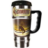 Wyoming Cowboys 20oz Travel Mug