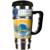 Golden State Warriors 20oz Champ Travel Mug