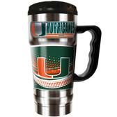 Miami Hurricanes 20oz Champ Travel Mug