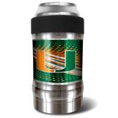 Miami Hurricanes Vacuum Insulated Can Holder