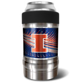 Illinois Fighting Illini Vacuum Insulated Can Holder