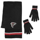 Atlanta Falcons Scarf and Glove Gift Set Chenille