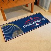 "Boston Red Sox 2018 World Series Champions Baseball Runner Mat 30""x72"""