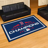 Boston Red Sox 2018 World Series Champions 5x8 Rug