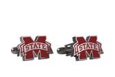 Mississippi State Bulldogs Custom Cufflink