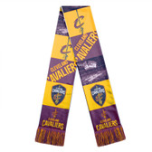 Cleveland Cavaliers Scarf Printed Bar Design