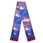 New York Rangers Scarf Printed Bar Design