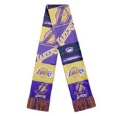 Los Angeles Lakers Scarf Printed Bar Design