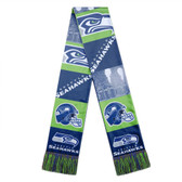 Seattle Seahawks Scarf Printed Bar Design