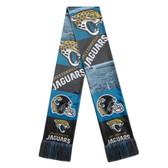 Jacksonville Jaguars Scarf Printed Bar Design