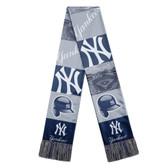 New York Yankees Scarf Printed Bar Design