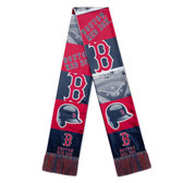 Boston Red Sox Scarf Printed Bar Design