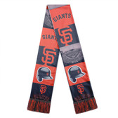 San Francisco Giants Scarf Printed Bar Design