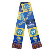 Golden State Warriors Scarf Printed Bar Design