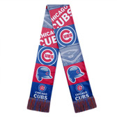 Chicago Cubs Scarf Printed Bar Design