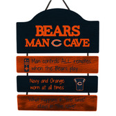 Chicago Bears Sign Wood Man Cave Design