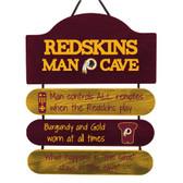 Washington Redskins Sign Wood Man Cave Design