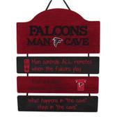 Atlanta Falcons Sign Wood Man Cave Design