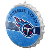 Tennessee Titans Sign Bottle Cap Style Distressed