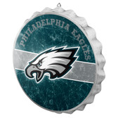 Philadelphia Eagles Sign Bottle Cap Style Distressed