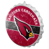 Arizona Cardinals Sign Bottle Cap Style Distressed