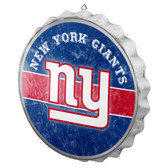 New York Giants Sign Bottle Cap Style Distressed