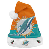Miami Dolphins Santa Hat Basic Design 2018