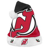 New Jersey Devils Santa Hat Basic Design 2018