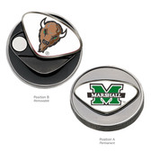 Marshall Thundering Herd Ball Marker