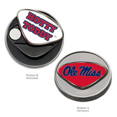 Ole Miss Rebels Ball Marker