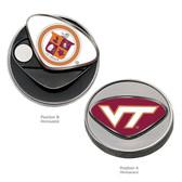 "Virginia Tech Hokies Ball Marker Virginia Tech Hokies ""VT""/Virginia Tech Hokies ""SHIELD"""