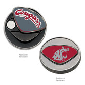 Washington State Cougars Ball Marker