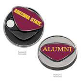 Arizona State Sun Devils Alumni  Ball Marker ARIZONA STATE WORDS/ALUMNI